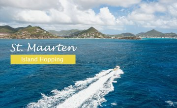 Island Hopping starting from St. Maarten