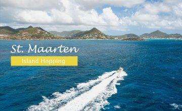 Island Hopping starting from St. Maarten
